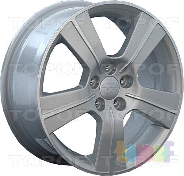 Колесные диски Replay (Replica LS) SB11. Цвет серебряный