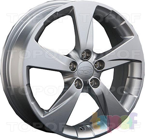 Колесные диски Replay (Replica LS) SB17. Цвет серебряный