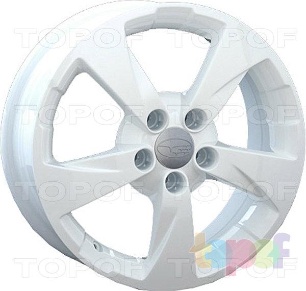 Колесные диски Replay (Replica LS) SB17. Цвет белый