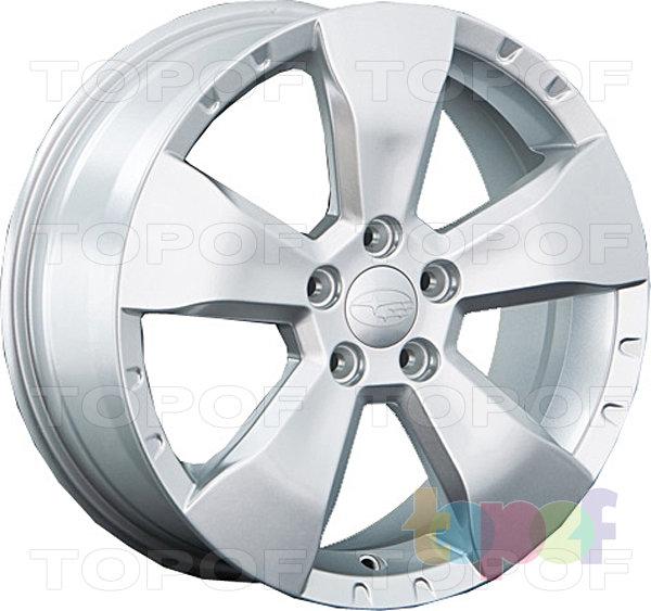 Колесные диски Replay (Replica LS) SB18. Цвет серебряный