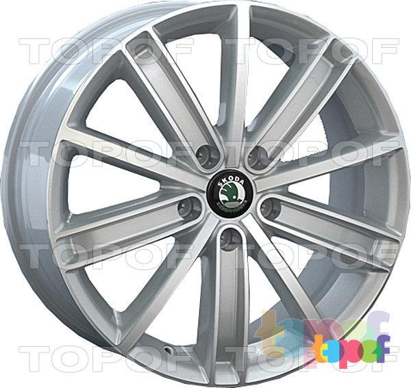 Колесные диски Replay (Replica LS) SK15. Цвет серебряный полированный