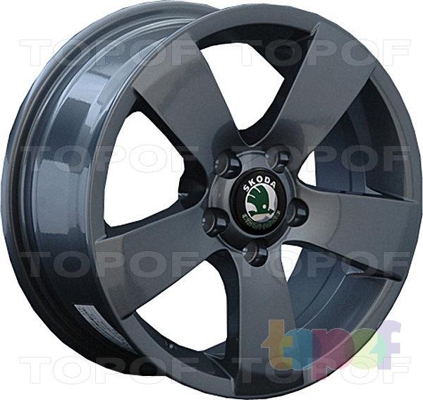 Колесные диски Replay (Replica LS) SK6. Цвет матовый черный