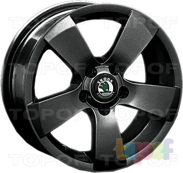 Колесные диски Replay (Replica LS) SK6. Цвет темно серый