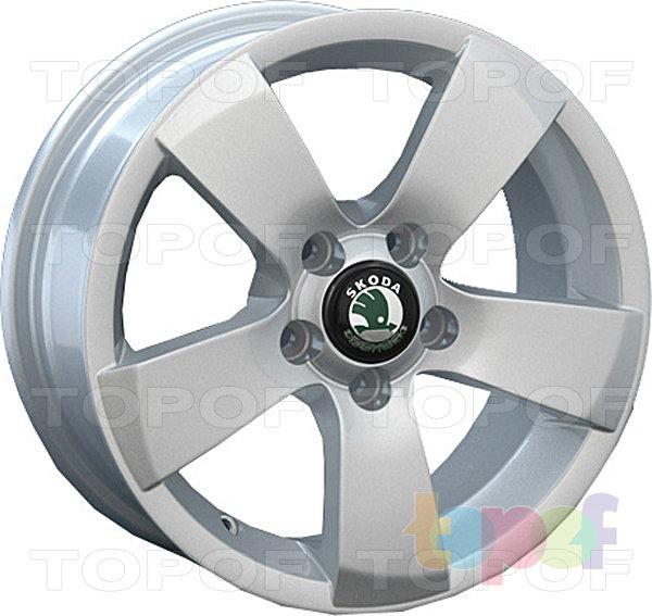 Колесные диски Replay (Replica LS) SK6. Цвет серебристый