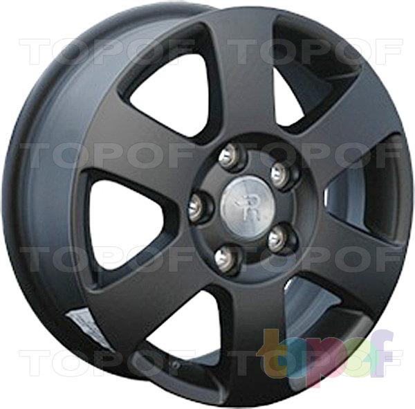 Колесные диски Replay (Replica LS) SK7. Цвет матовый черный