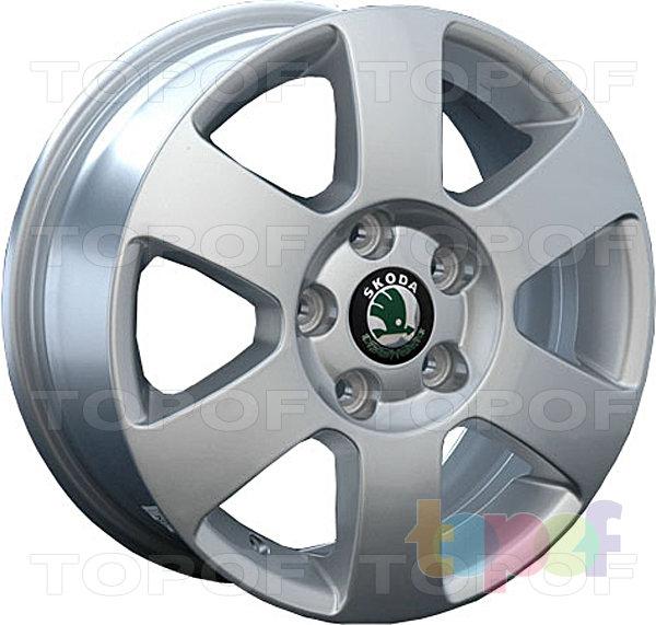 Колесные диски Replay (Replica LS) SK7. Цвет серебряный