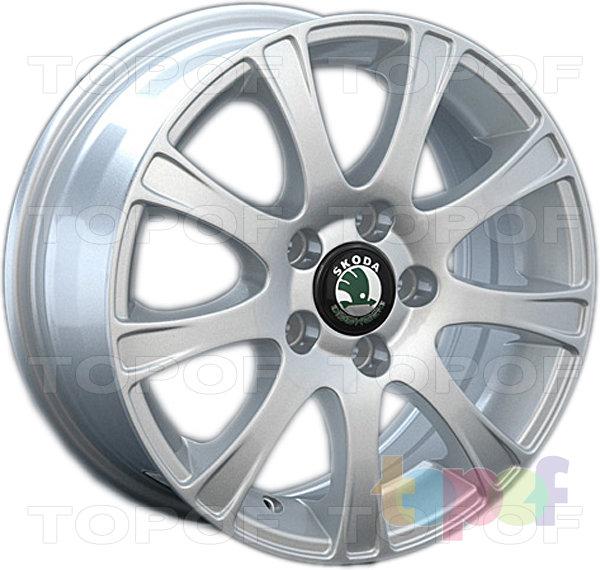 Колесные диски Replay (Replica LS) SK8. Цвет серебряный