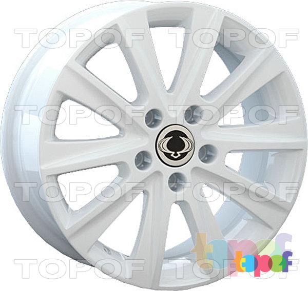 Колесные диски Replay (Replica LS) SNG14. Цвет белый