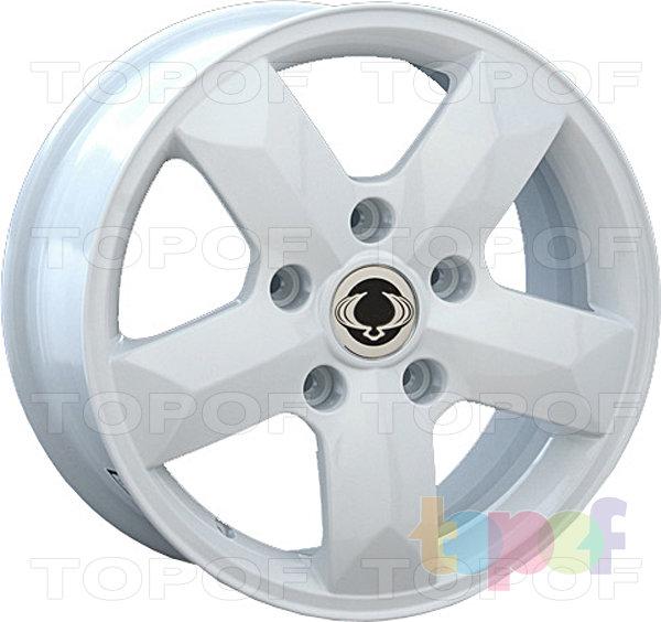 Колесные диски Replay (Replica LS) SNG7. Цвет белый