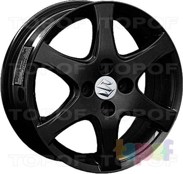 Колесные диски Replay (Replica LS) SZ11. Цвет матовый черный