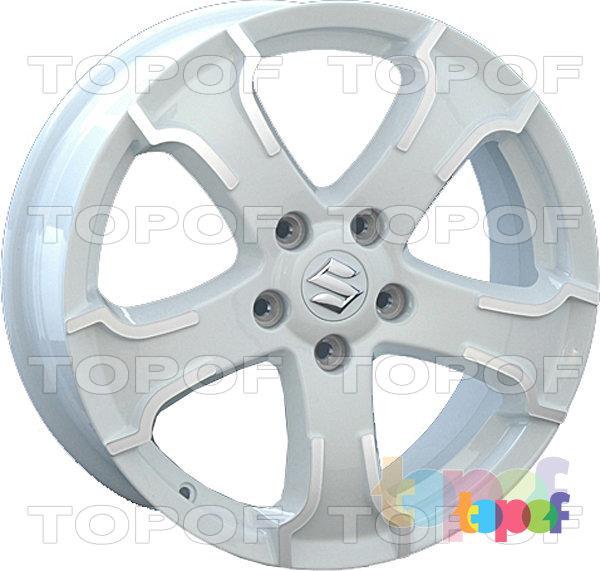 Колесные диски Replay (Replica LS) SZ6. Цвет белый полированный