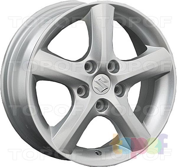 Колесные диски Replay (Replica LS) SZ8. Цвет серебряный