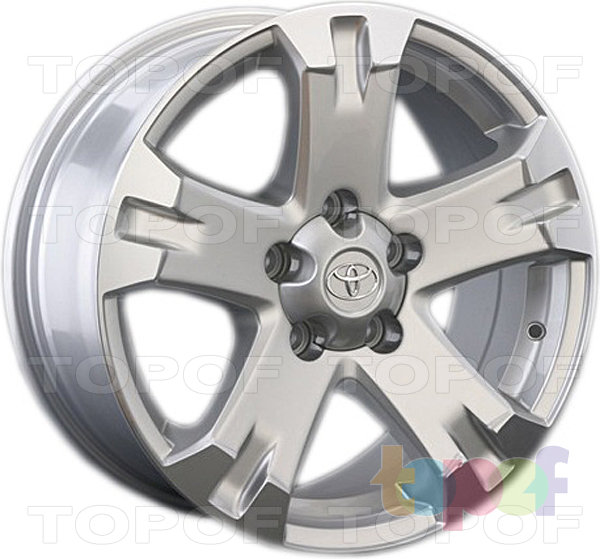 Колесные диски Replay (Replica LS) TY21. Цвет серебряный
