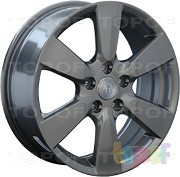 Колесные диски Replay (Replica LS) TY24. Цвет темно-серый