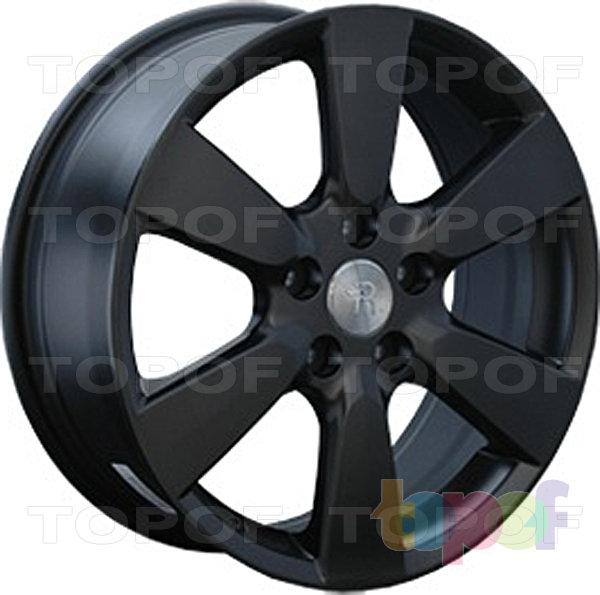Колесные диски Replay (Replica LS) TY24. Цвет матовый черный