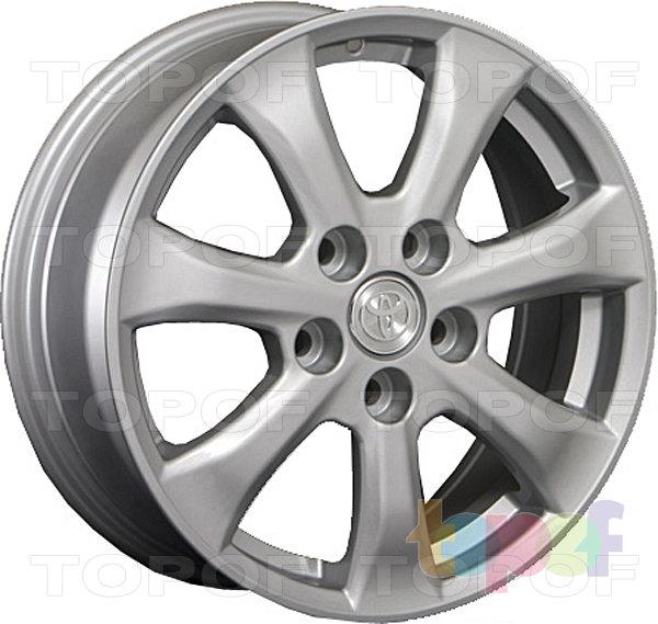Колесные диски Replay (Replica LS) TY30. Цвет серебряный