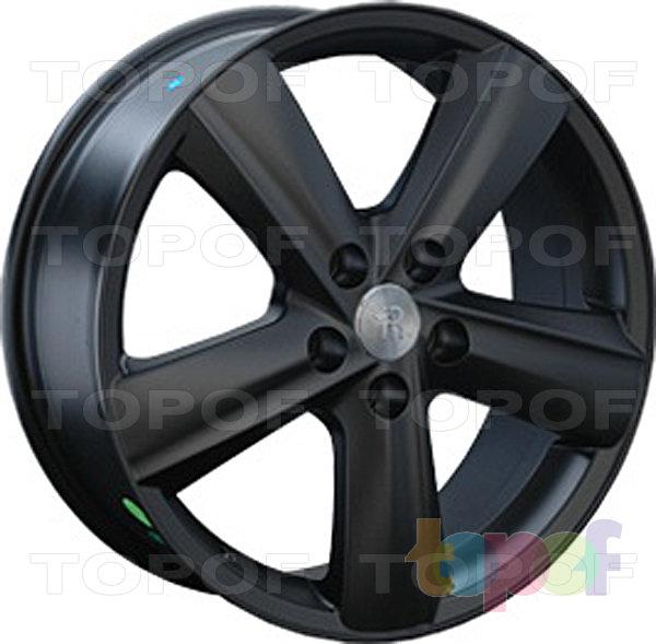 Колесные диски Replay (Replica LS) TY39. Цвет матовый черный