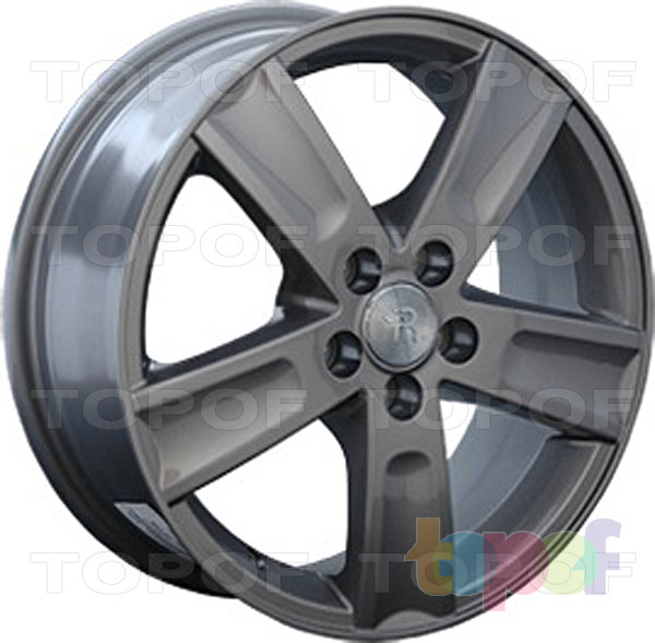 Колесные диски Replay (Replica LS) TY41. Цвет темно-серый