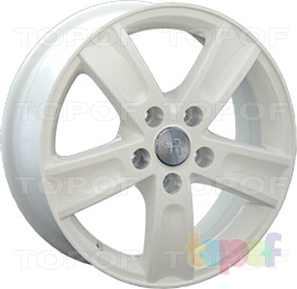 Колесные диски Replay (Replica LS) TY41. Цвет белый