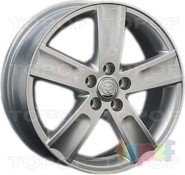 Колесные диски Replay (Replica LS) TY41. Цвет - Silver