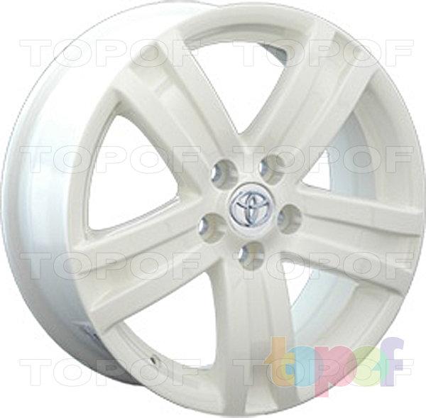 Колесные диски Replay (Replica LS) TY42. Цвет белый