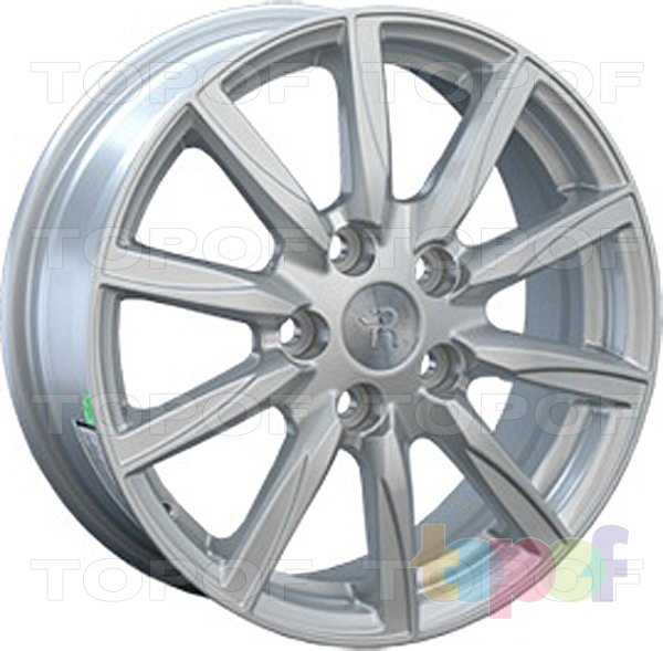 Колесные диски Replay (Replica LS) TY48. Цвет серебряный