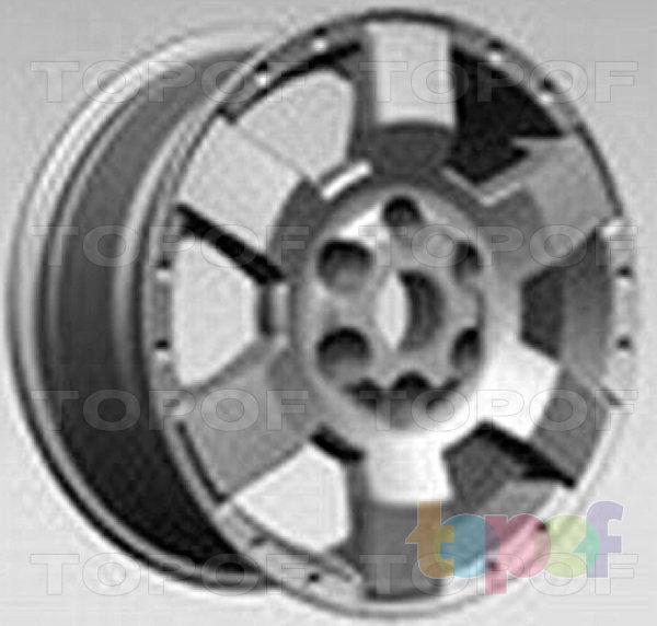 Колесные диски Replay (Replica LS) TY53. Изображение модели #1