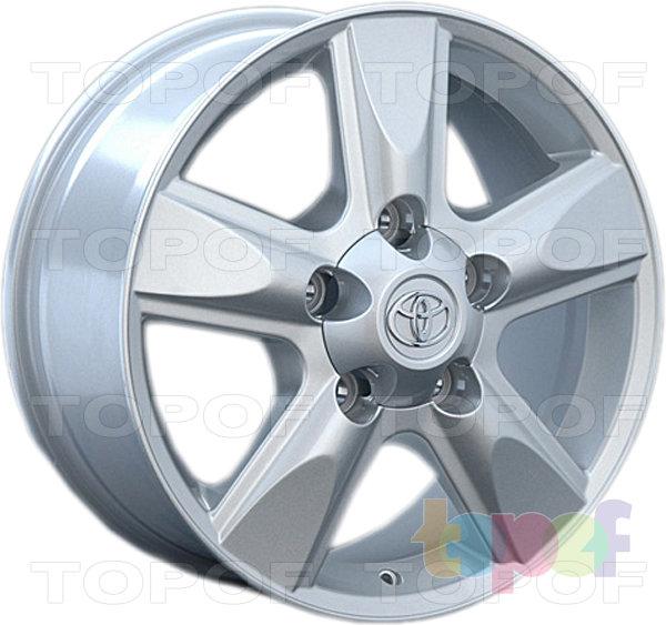 Колесные диски Replay (Replica LS) TY60. Цвет серебряный