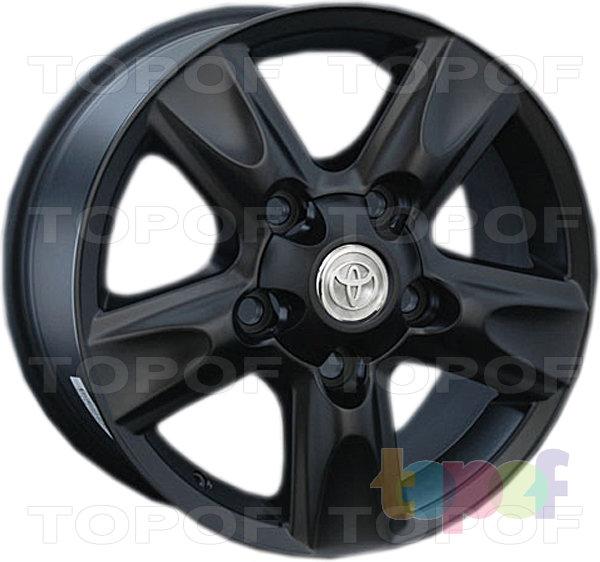 Колесные диски Replay (Replica LS) TY60. Цвет матовый черный