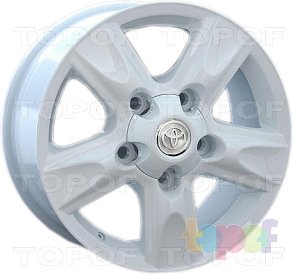 Колесные диски Replay (Replica LS) TY60. Цвет белый