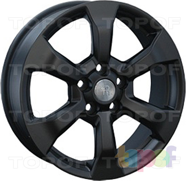 Колесные диски Replay (Replica LS) TY70. Цвет матовый черный