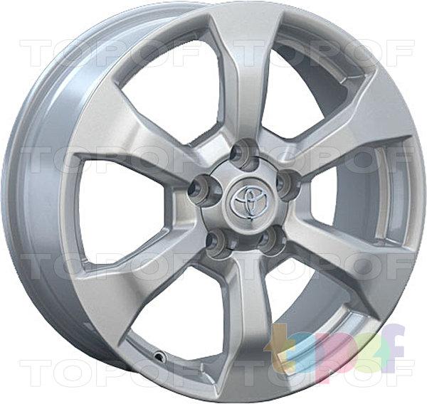 Колесные диски Replay (Replica LS) TY70. Цвет серебряный