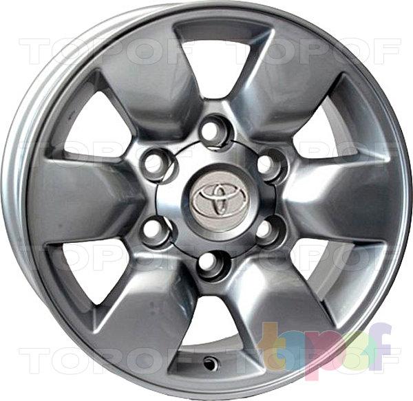 Колесные диски Replay (Replica LS) TY73. Цвет серебряный