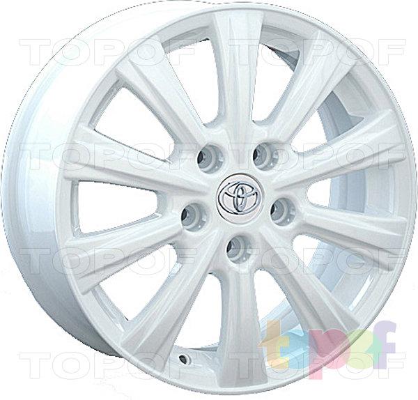 Колесные диски Replay (Replica LS) TY75. Цвет белый