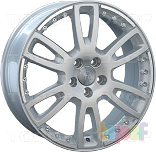 Колесные диски Replay (Replica LS) V16. Цвет серебряный полированный