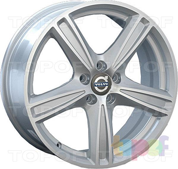 Колесные диски Replay (Replica LS) V9. Цвет серебряный полированный