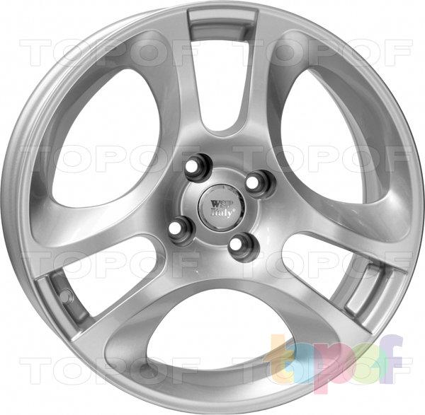 Колесные диски Replica WSP Alfa Romeo W255 MaRs MiTo. Цвет серебряный
