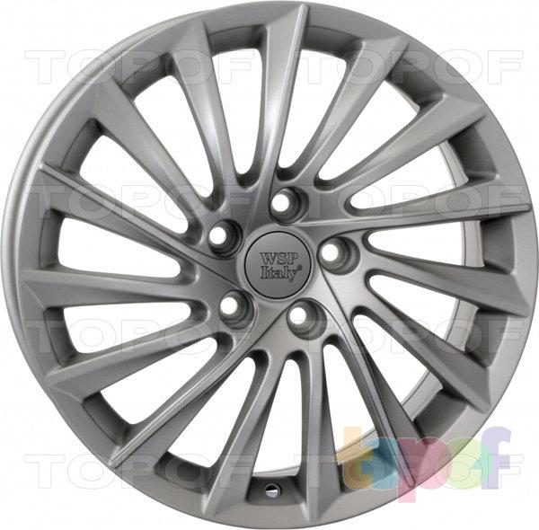 Колесные диски Replica WSP Alfa Romeo W256 Giulietta. Матовый металлический