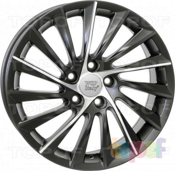 Колесные диски Replica WSP Alfa Romeo W256 Giulietta. Черный полированный