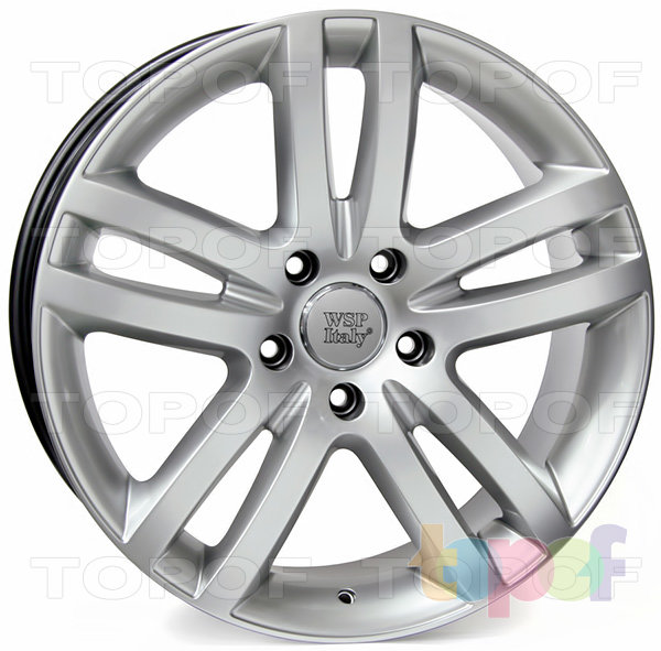 Колесные диски Replica WSP Audi W551 Wien Q7. Цвет колесного диска - Hyper Silver (Насыщенный серебряный)