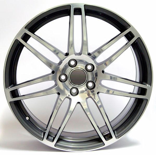 Колесные диски Replica WSP Audi W554 S8 Cosma. Цвет колесного диска - Anthracite polished (Антрацит полированный)