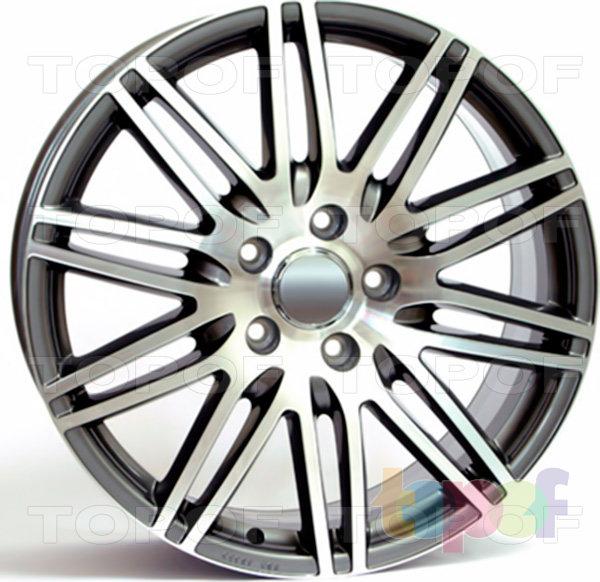 Колесные диски Replica WSP Audi W555 Alabama Q7. Цвет колесного диска - Anthracite polished (Антрацит полированный)
