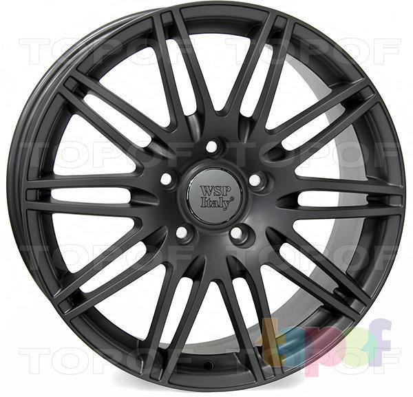 Колесные диски Replica WSP Audi W555 Alabama Q7. Цвет колесного диска - Mist Gun Metal (Черный матовый с дымкой)