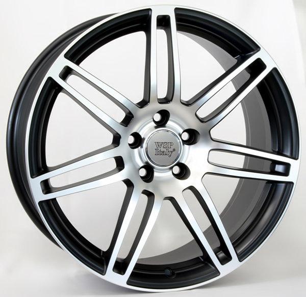 Колесные диски Replica WSP Audi W557 S8 Cosma Two. Цвет колесного диска - Black Polished (Черный полированный)