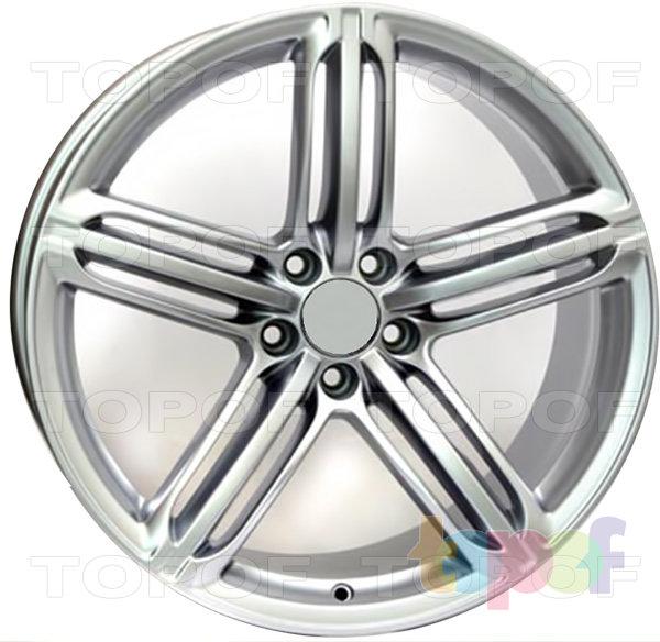 Колесные диски Replica WSP Audi W560 Pompei. Цвет колесного диска Silver (S) - Серебряный