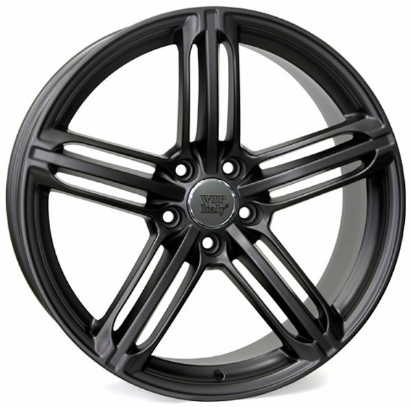 Колесные диски Replica WSP Audi W560 Pompei. Цвет колесного диска - Черный матовый с дымкой