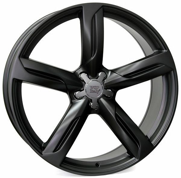 Колесные диски Replica WSP Audi W564 Afrodite Q5. Цвет колесного диска - Черный матовый с дымкой