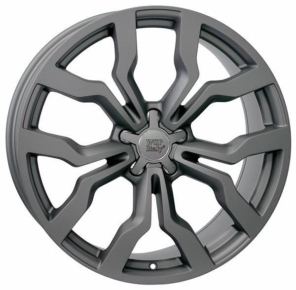 Колесные диски Replica WSP Audi W565 Medea. Цвет колесного диска - Mist Gun Metal (Черный матовый с дымкой)