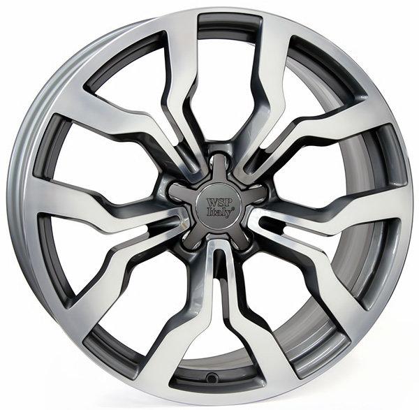Колесные диски Replica WSP Audi W565 Medea. Цвет колесного диска - Mist gun metal polished