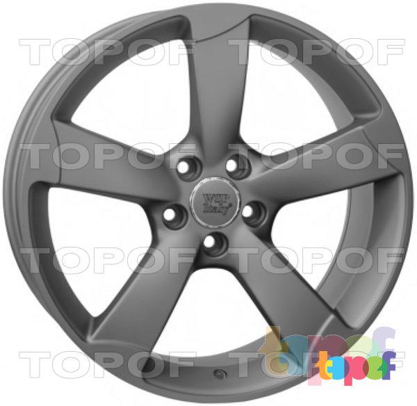 Колесные диски Replica WSP Audi W567 Giasone. Цвет колесного диска - Mist Gun Metal (Черный матовый с дымкой)
